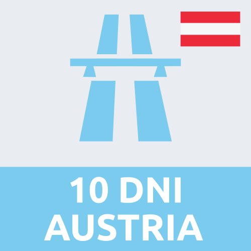 Austria - winieta elektroniczna 10-dniowa